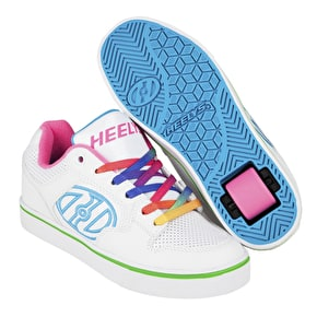 Heelys Motion Plus - White/Rainbow