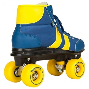Rookie Quad Roller Skates - Retro V2 Blue/Yellow