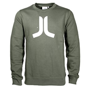 WeSC Icon Sweatshirt - Forest Green