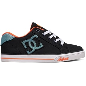 DC Chelsea TX Girls Shoes - Black/Multi/White