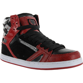 World Industries Lux Skate Shoes - Black/Red