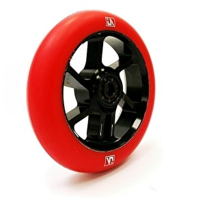 UrbanArtt S7 100mm Wheel - Black/Red