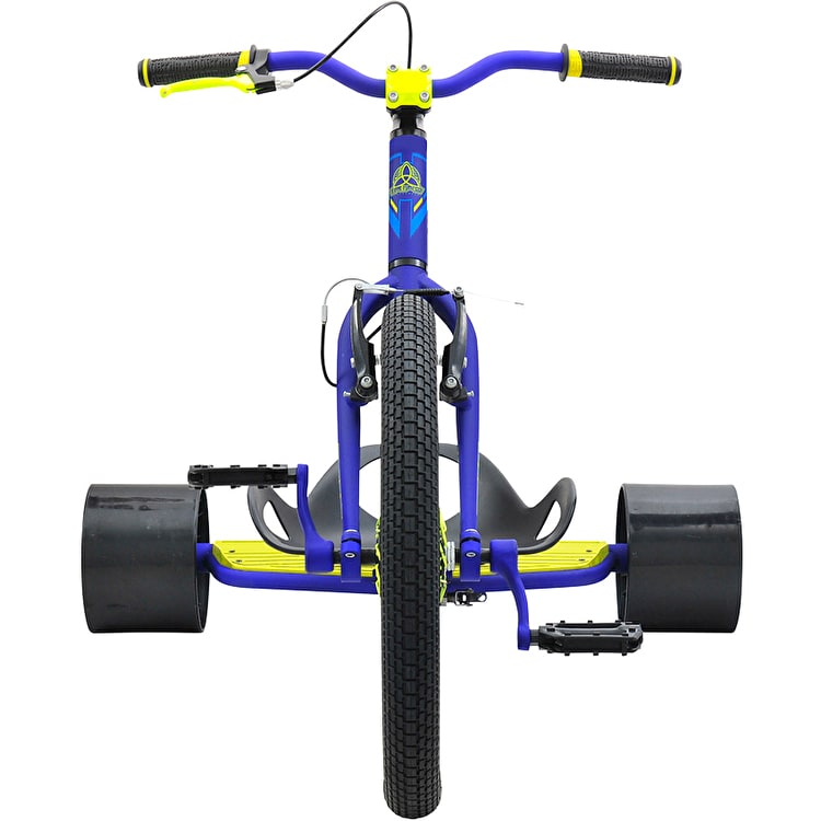 Triad Underworld 3 Drift Trike - Blue/Neon Yellow