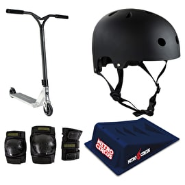 Nitro Circus R Willy CX2 Stunt Scooter Deluxe Bundle