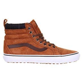 B-Stock Vans Sk8-Hi MTE Shoes - Glazed Ginger/Plaid UK 7 (Box Damage)