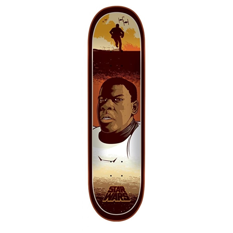 Santa Cruz x Star Wars Episode VII Skateboard Deck - Finn 8.25""