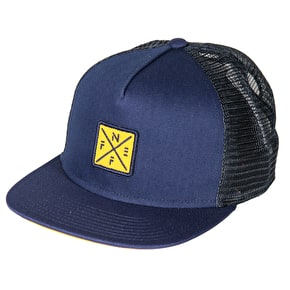 Neff Crossbar Trucker Cap - Navy