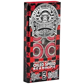 Speed Demons Bearings - ABEC 5 (Pack of 8)