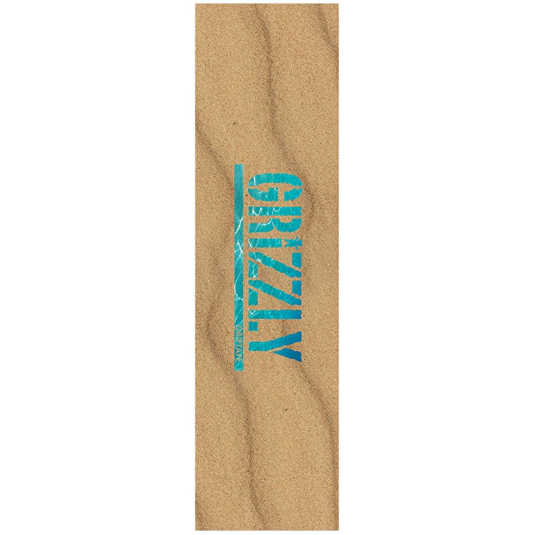 Grizzly Washed Up Skateboard Grip Tape - Sand