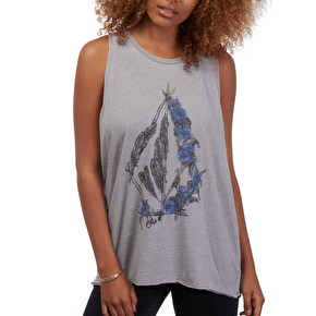 Volcom Pony Gold Tank Top - Gunmetal Grey