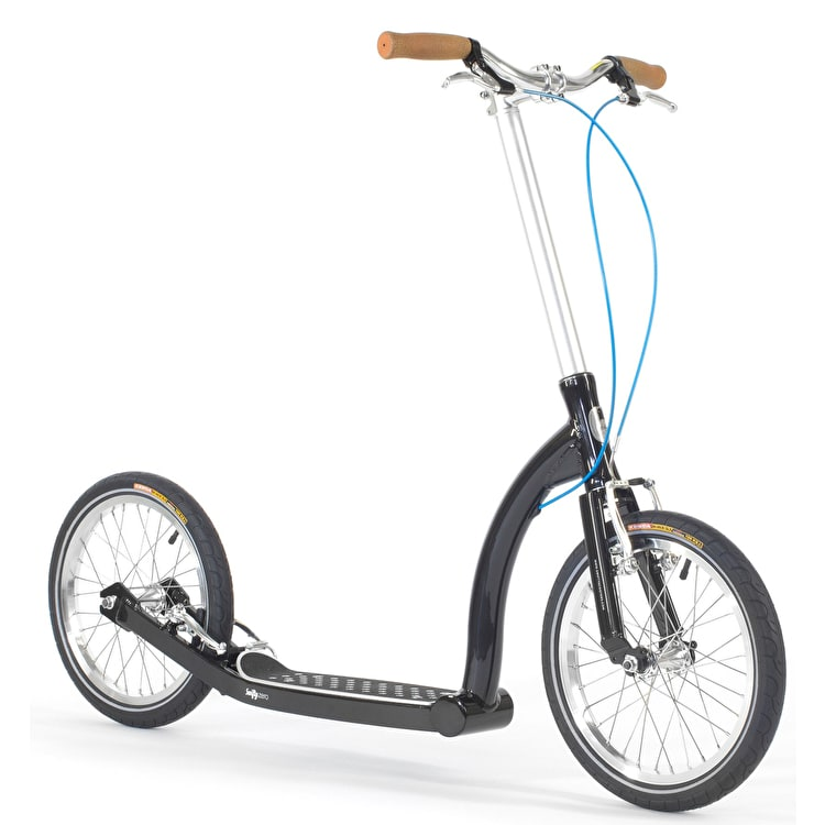 SwiftyZERO MKII Fixed Frame Complete Scooter - Metallic Black/Silver