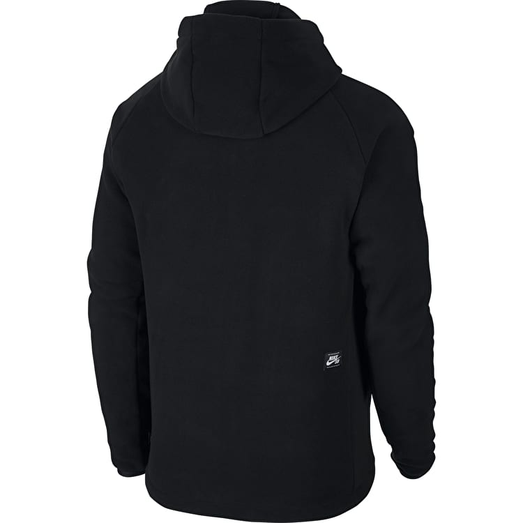 Nike SB Therma Zip Hoodie - Black/Black/White