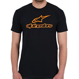 Alpinestars Ageless T-Shirt - Navy/Orange