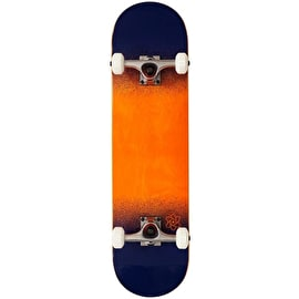 Rocket Skateboards Twin Fade Series Complete Skateboard - Orange/Blue 8