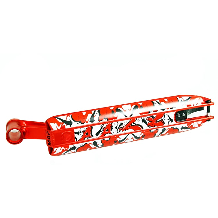 MGP DDAM Street Integrated Scooter Deck - Red 4.5""