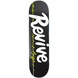 ReVive Pro Script Giger Skateboard Deck - Black
