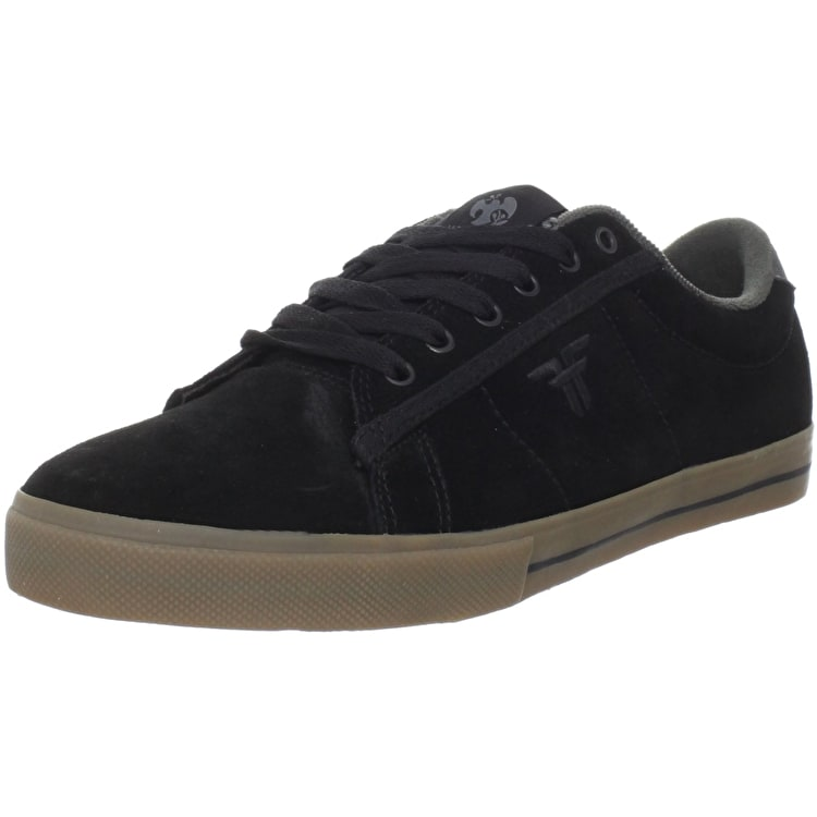Fallen Bomber Skate Shoes - Josh Harmony - Black/Gum - UK Size 8 (B-Stock)