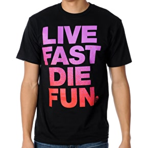 Neff Die Fun T-shirt - Black