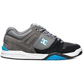 DC Stag 2 Shoes - Black/Grey