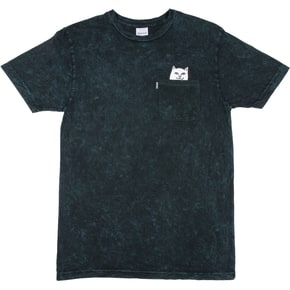 RIPNDIP Lord Nermal Pocket T-Shirt - Aqua Mineral Wash