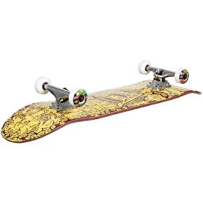 Drawing Boards Custom Skateboard - 10 Years Deep Crowded - 8.25