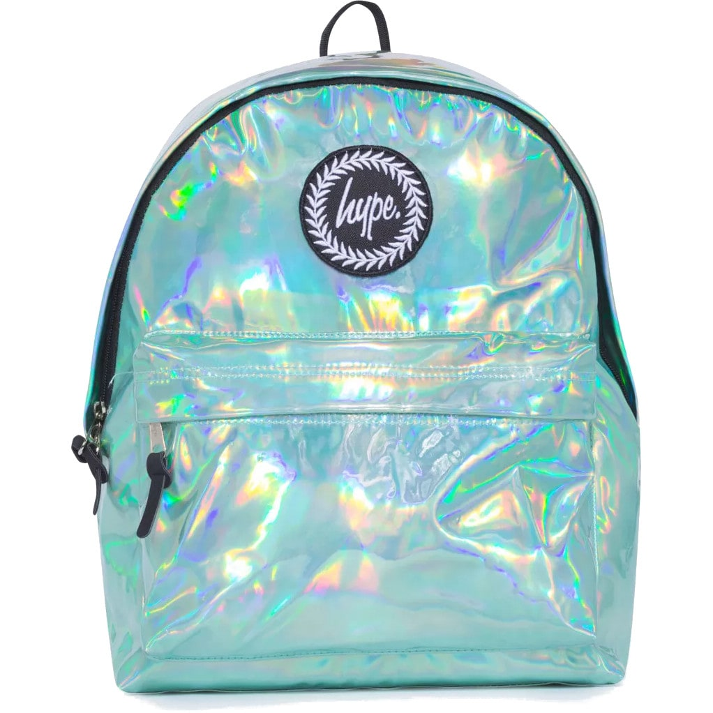Hype Holographic Backpack - Mint   Hype Bags   Hype Clothing   Backpacks, T  Shirts, Rucksacks, School Bags   Hoodie   Boys   Girls   Skatehut 18210c7624
