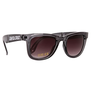 Santa Cruz Trans Sunglasses - Clear Black