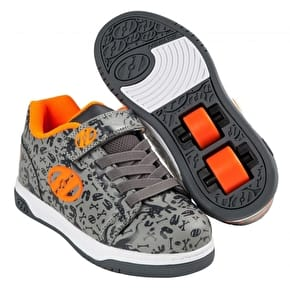 Heelys X2 Dual Up - Grey/Charcoal/Orange