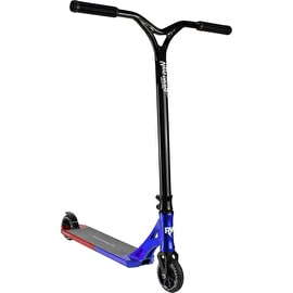 Nitro Circus R Willy CX3 Stunt Scooter - Blue Red Blend/Gloss Black