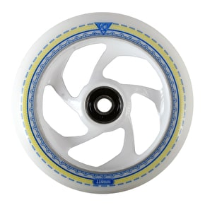 AO Mandala 5 Hole 110mm Scooter Wheel - White LE