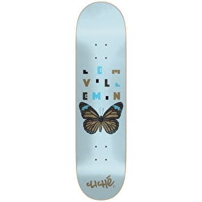 Cliche Papillon Impact Light Skateboard Deck - Villemin 8.125