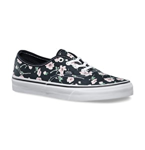 Vans Authentic Shoes - (Vintage Floral) Blue Graphite