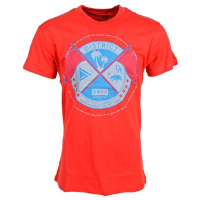 District Supply Co. Seal T-Shirt - Red