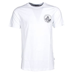 WeSC Max Chest Temple T-Shirt - White