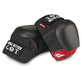 187 Pro Derby Knee Pads - Red