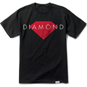 Diamond Solid T-Shirt - Black