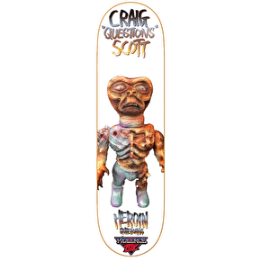 Heroin Violence Toy Skateboard Deck - Craig Questions 8.44