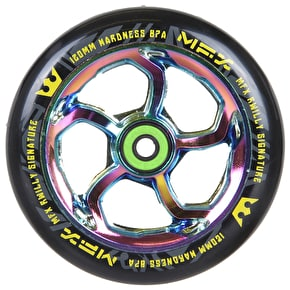 MGP MFX Hurricane Scooter Wheel - R Willy Signature 120mm Neochrome