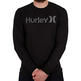 Hurley M One&Only Long Sleeve T shirt - Black