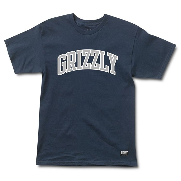 Grizzly Top Team T-Shirt - Navy
