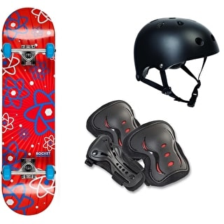 Rocket Starter Skateboard Bundle