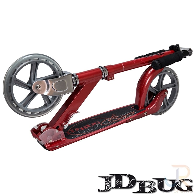 JD Bug Folding Commuter Scooter - Street MS200 Red Glow Pearl