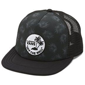Vans Surf Patch Trucker Cap - Tonal Palm/Black