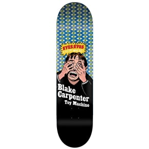 Toy Machine Carpenter Eyes Everywhere Skateboard Deck - 8.375