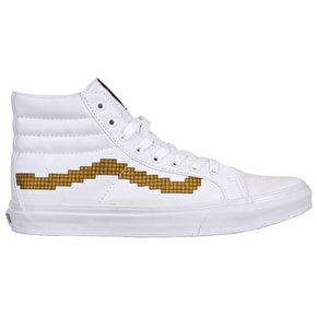 Vans Sk8-Hi Slim  Shoes - (Nintendo) Console/Gold