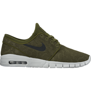 Nike SB Stefan Janoski Max Skate Shoes - Legion Green/Black
