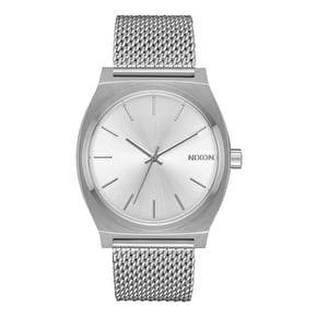 Nixon Time Teller Milanese Womens Watch - All Silver