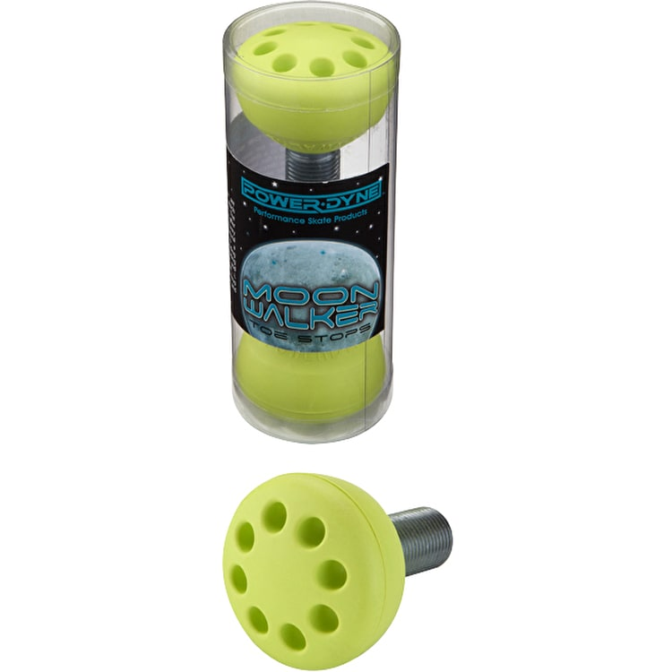 Riedell MoonWalker Toe Stops Electric Yellow