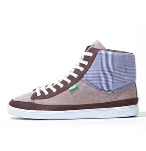 Keep Guerra Shoes - Organic Glenplaid and Houndstooth
