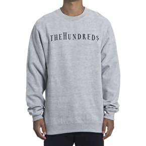 The Hundreds Cava Crewneck - Athletic Heather
